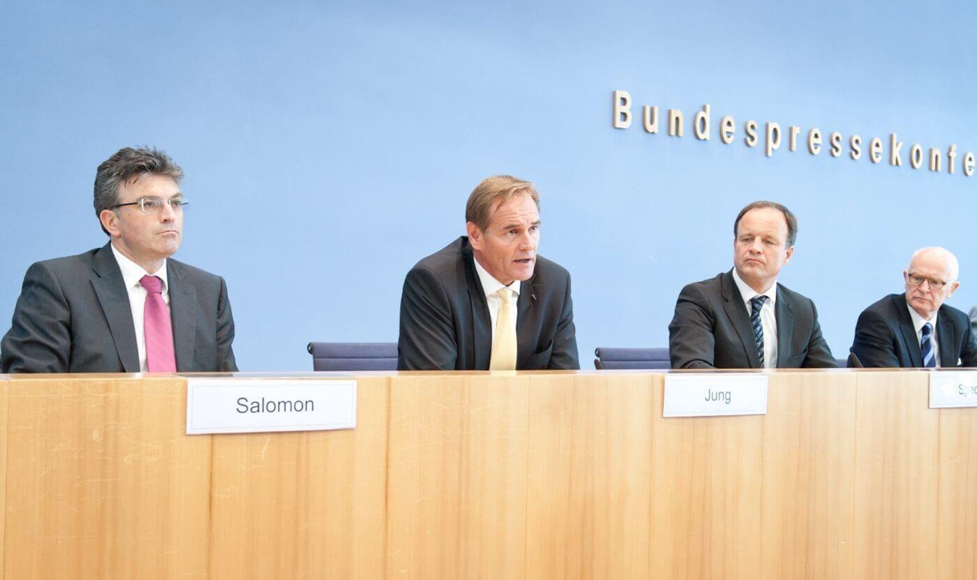 von links: Salomon, Jung, Spec - Foto: André Wagenzik, © Rat für Nachhaltige Entwicklung