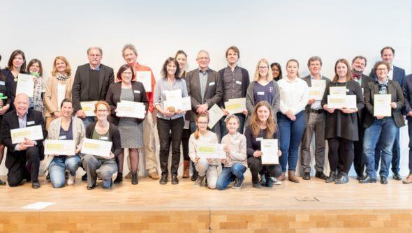 Project Sustainability awards ceremony for the south region on 11.3.2017 in Ulm; © German Council for Sustainable Development, photographer: Boris Stöbe, bspmedia