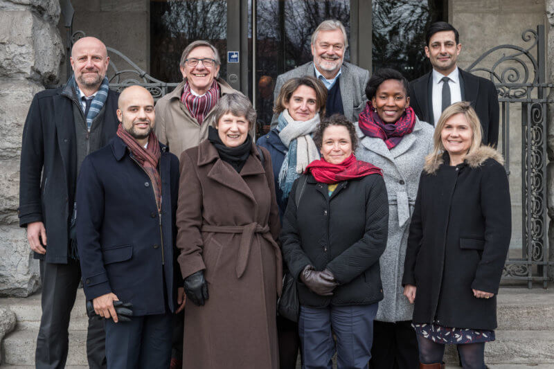 The group of international experts at their meeting from February, 26 to March, 2nd 2018 in Berlin - Photo: Ralf Rühmeier, © German Council for Sustainable Development (RNE)