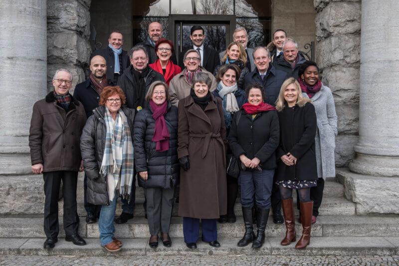 Die internationale Expertengruppe und Mitglieder des Nachhaltigkeitsrates bei ihrem Treffen vom 26. Februar bis 2. März 2018 in Berlin - Foto: Ralf Rühmeier, © Rat für Nachhaltige Entwicklung