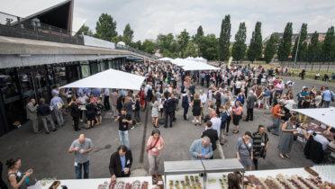 Nachhaltiges Catering auf der 18. Jahreskonferenz des Rates für Nachhaltige Entwicklung am 04.06.2018 in Berlin, Foto: Benjamin Pritzkuleit, © Rat für Nachhaltige Entwicklung (RNE)