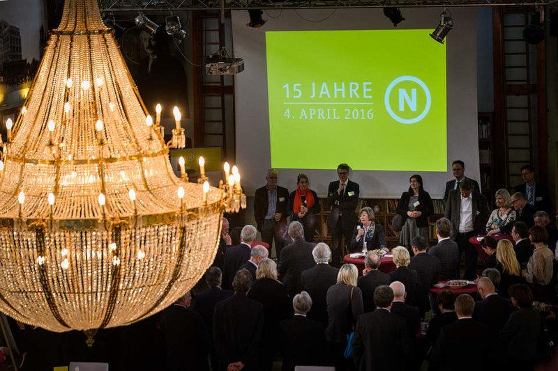 """Festakt """"15 Jahre RNE"""" am 4. April 2016 in Berlin, Foto: André Wagenzik, © Rat für Nachhaltige Entwicklung"""