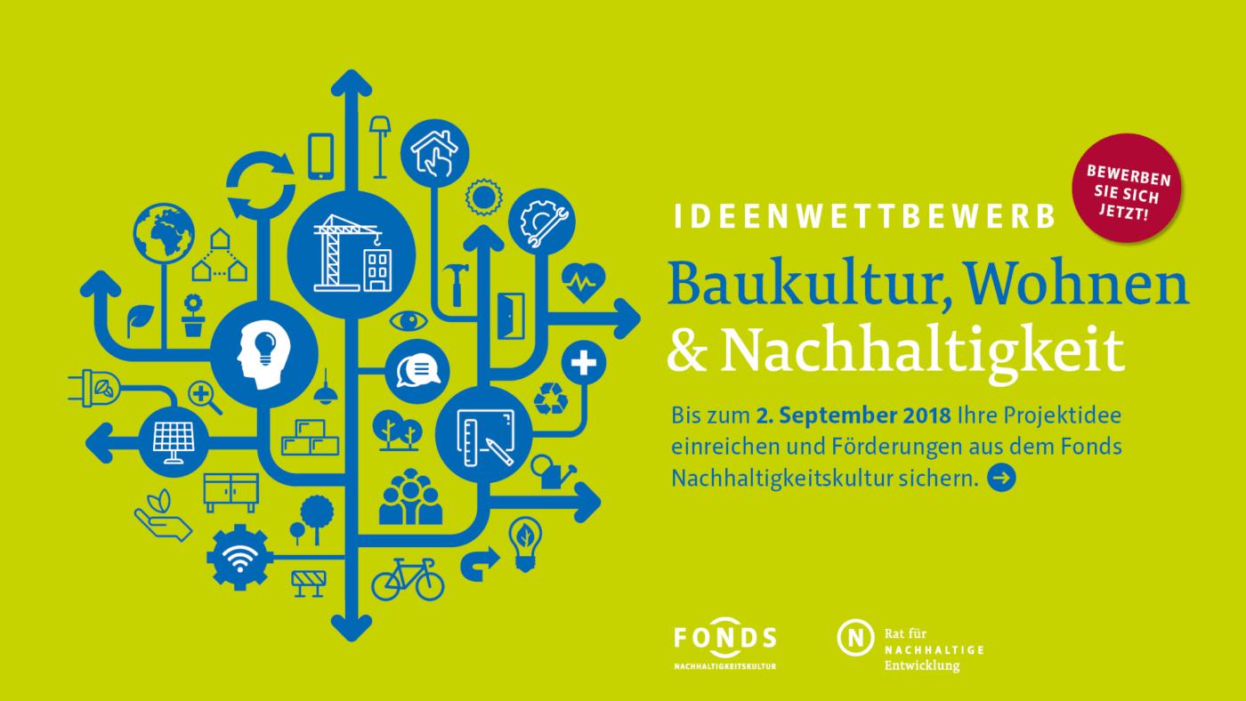 Berlin, 10. Juli 2018 – Wie wollen wir wohnen, welche Baukultur braucht  unsere gebaute Umwelt in einer nachhaltigen Stadt? Was können wir tun, ...