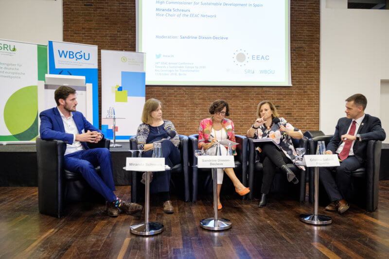 EEAC Annual Conference, 11 October 2018, Berlin - Photo: André Wagenzik, © German Council for Sustainable Development (RNE)