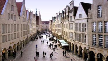 Die Stadt Münster hat ein Modell für bezahlbaren Wohnraum entwickelt, das funktioniert. © Foto: Presseamt Münster / Tilman Roßmöller