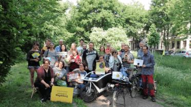 Teilnehmer der Deutschen Aktionstage Nachhaltigkeit 2018, © Lange Woche der Nachhaltigkeit, Netzwerk Zukunft Sachsen-Anhalt / Bild: Bianca Oldekamp/Volksstimme