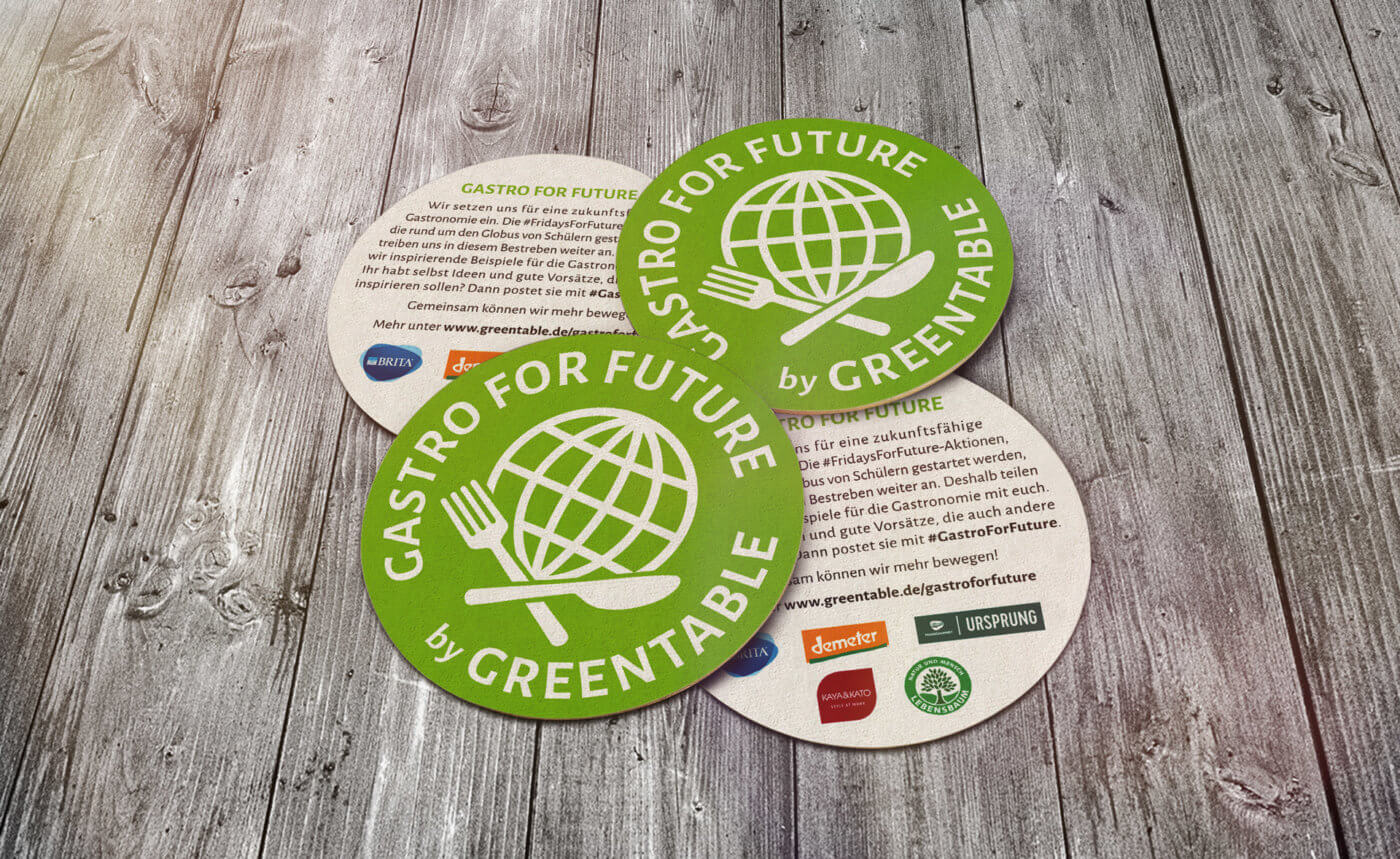 Die Initiative #GastroForFuture ist ein Leuchtturmprojekt der Deutschen Aktionstage Nachhaltigkeit 2019. Foto: © Greentable