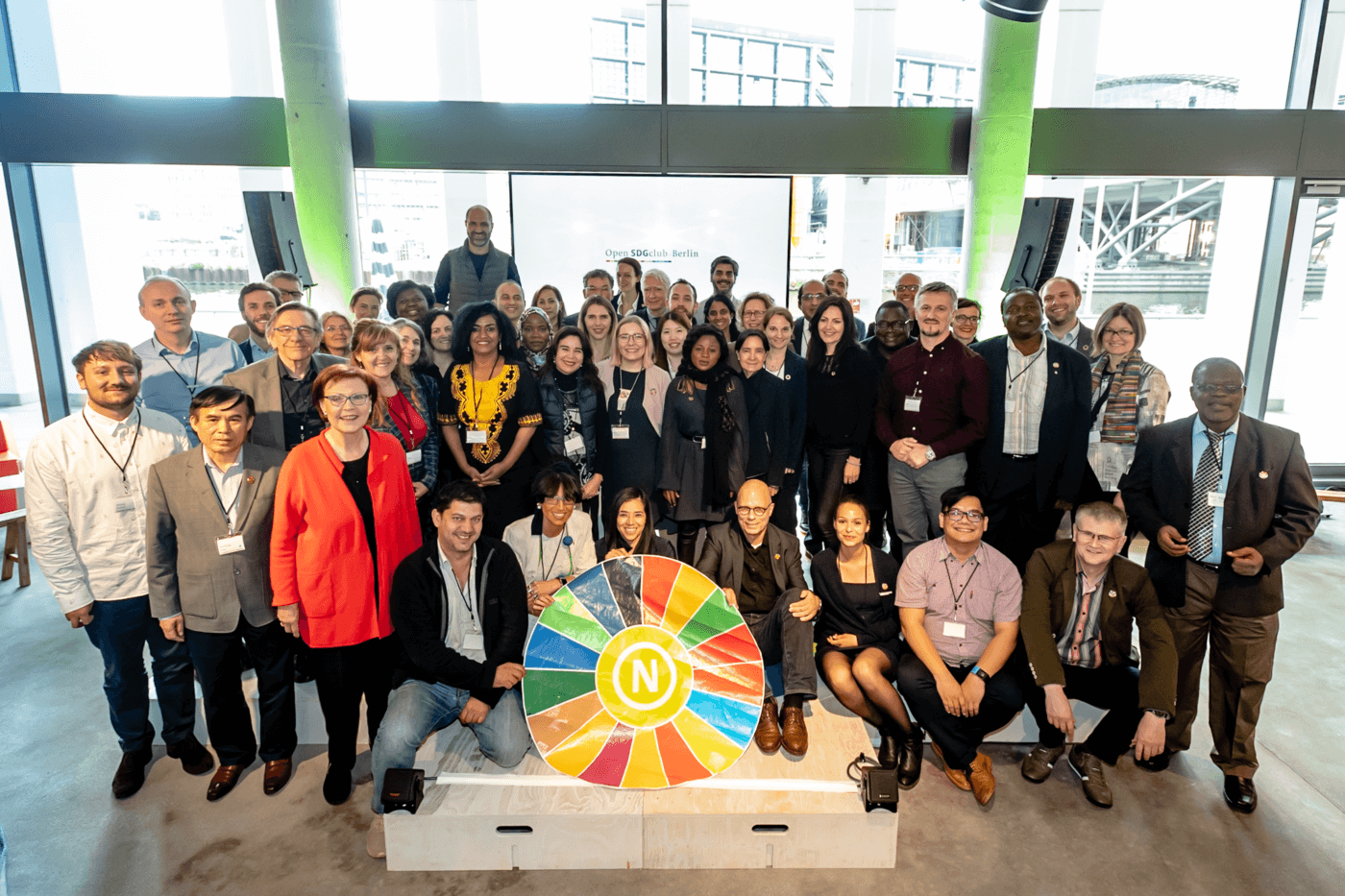 Open SDGclub.Berlin 2019 participants - Photo: Svea Pietschmann, © German Council for Sustainable Development