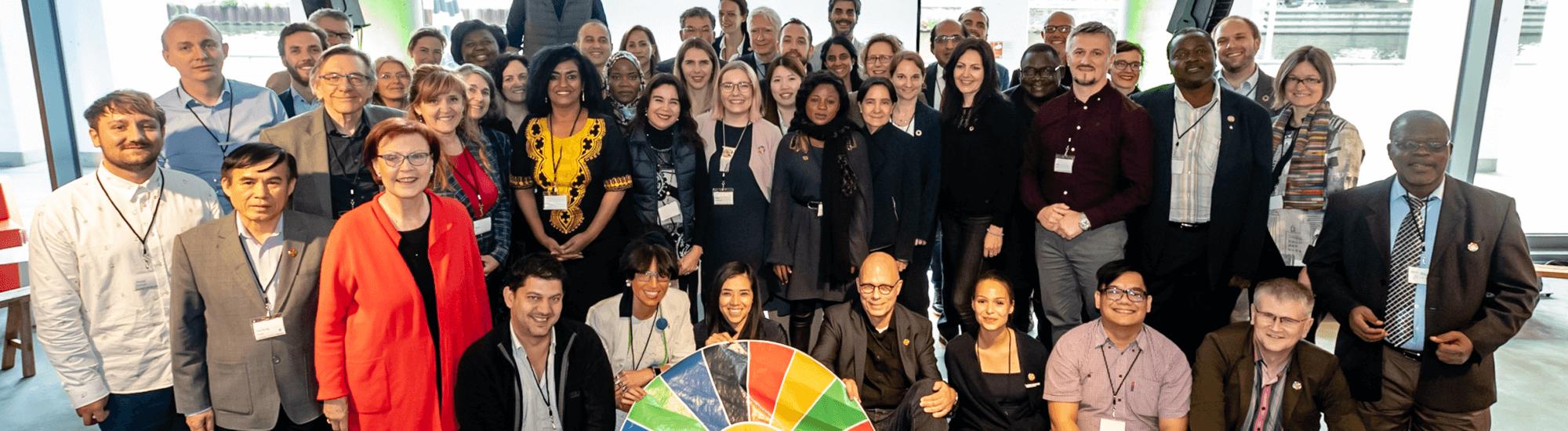 Teilnehmer*innen des Open SDGclub.Berlin 2019 - Foto: Svea Pietschmann, © Rat für Nachhaltige Entwicklung
