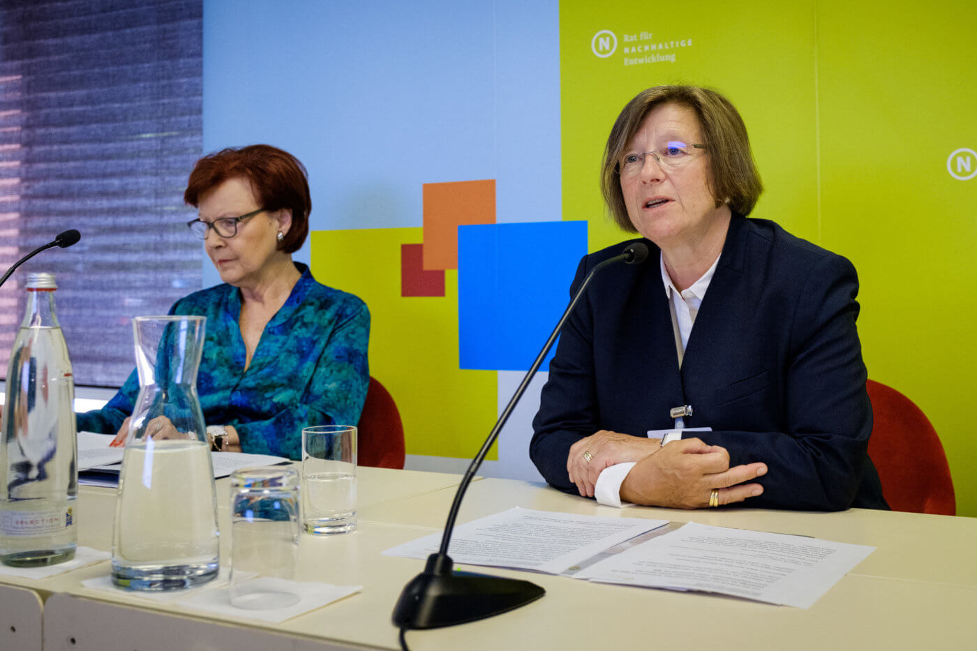 Press conference at the 19th Annual Conference of the Council on 4 June 2019 in Berlin, Photo: André Wagenzik/Andreas Domma © German Council for Sustainable Development (RNE)
