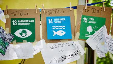 """Das Nachhaltigkeitsfestival """"Schlabberkappes"""" in Arnsberg, Foto: Christoph Meinschäfer, © Rat für Nachhaltige Entwicklung (RNE)"""