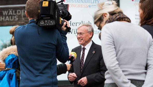 Ex-Bundespräsident Horst Köhler auf dem Future Sustainability Congress von RENN.nord am 19. November 2019 in Hamburg. Foto: RENN.nord © Jan Konitzki