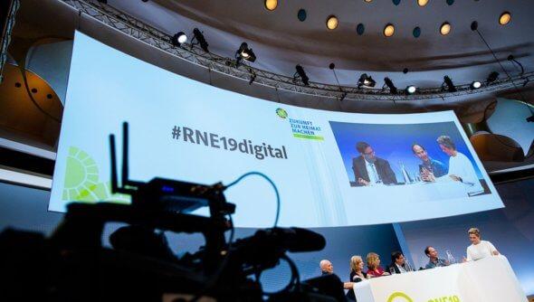 """Themenforum """"Digitalisierung"""" auf der 19. Jahreskonferenz des RNE am 04.06.2019 in Berlin, Foto: André Wagenzik/Andreas Domma © Rat für Nachhaltige Entwicklung (RNE)"""