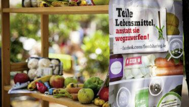 Fair-Teiler: Lebensmittel zu teilen, anstatt sie wegzuwerfen – darum geht es beim Foodsharing. Foto: © foodsharing e.V.