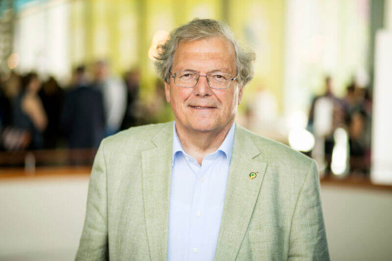 Prof. Dr. Hubert Weiger - Photo: Andreas Weiss, © German Council for Sustainable Development (RNE) (3 MB)